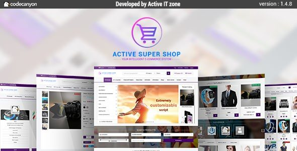 Active Super Shop v1.4.8 - Multi-vendor CMS | PHP Scripts
