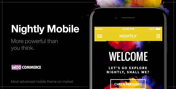 Nightly Mobile v1.4.1 - The Ultimate Mobile Theme